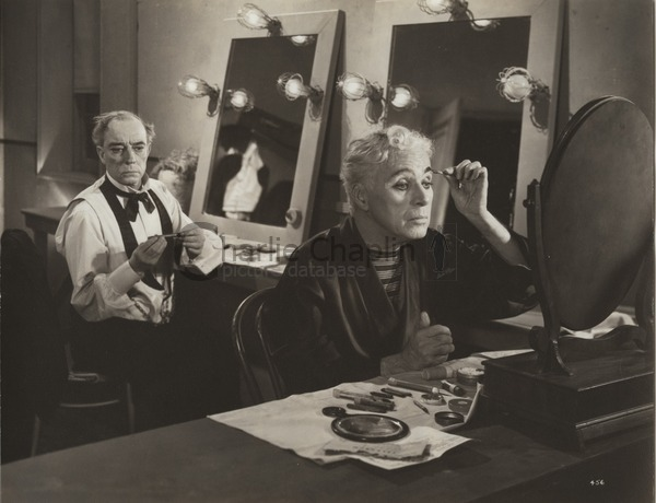 Buster Keaton and Chaplin in Limelight, 1952