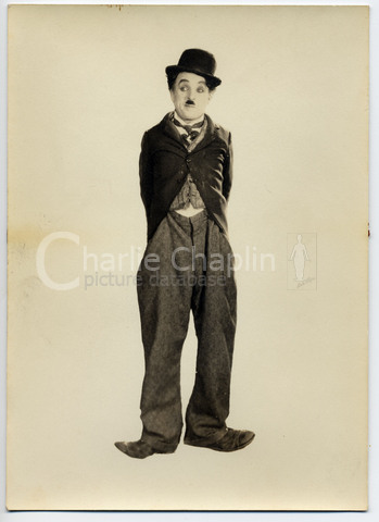 Little tramp portrait from the circus big