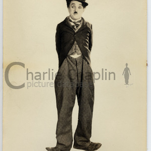 Little tramp portrait from the circus midsquare