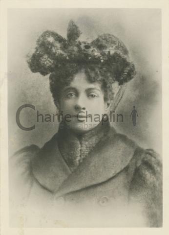 Hannah Chaplin, circa 1885