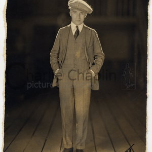 Charles chaplin portrait copyright james abbe midsquare