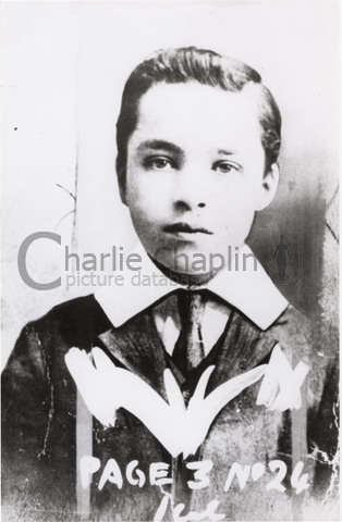 Chaplin aged 9 or 10, at the time he toured with the Eight Lancashire Lads