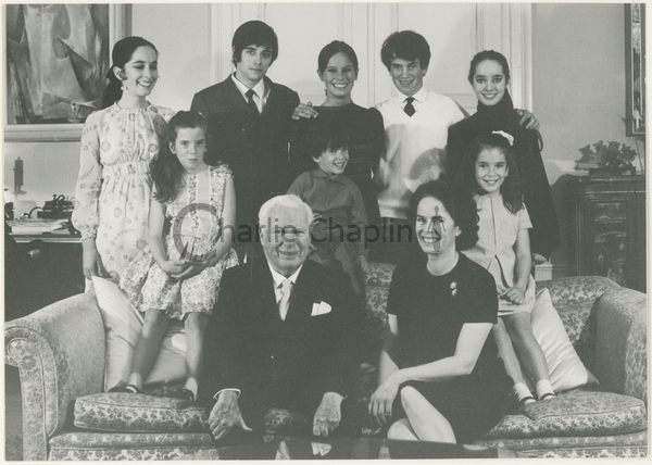 Chaplin family christmas card   25th wedding anniversary big