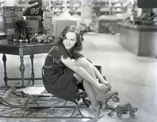 Paulette Goddard in Modern Times, 1936