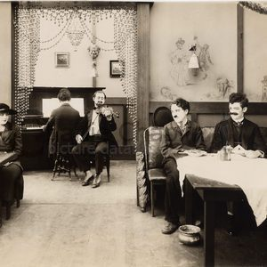 The immigrant restaurant scene chaplin and edna purviance midsquare