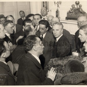 Hotel adlon press conference march 1931 photo b a balassa midsquare