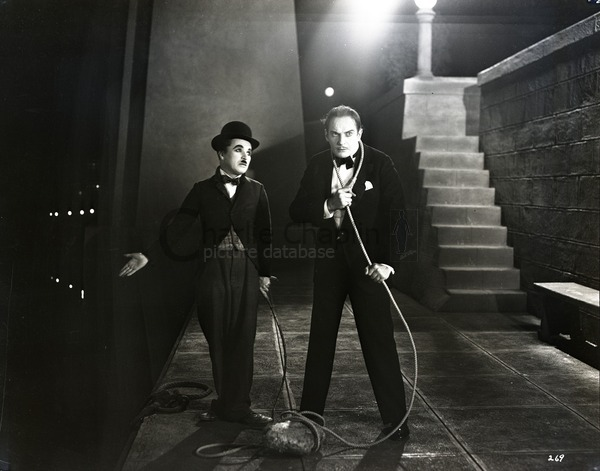 The Tramp and the Millionaire, City Lights, 1931