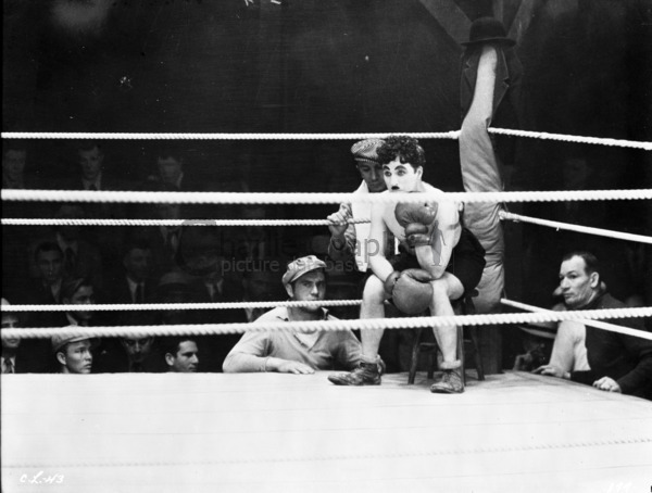 Charlie Chaplin In Boxing Ring