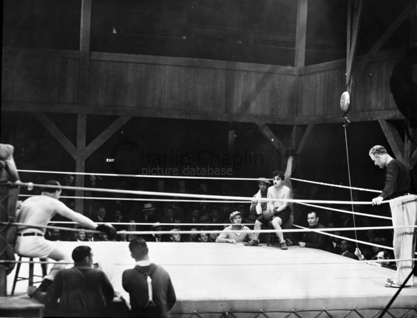 Charlie Chaplin I Boxing Ring