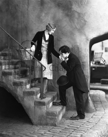 Virginia Cherrill and Charlie Chaplin, City Lights