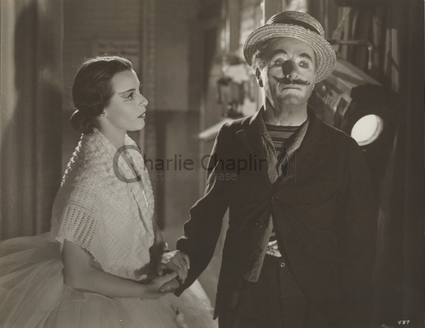Claire Bloom and Chaplin in Limelight, 1952