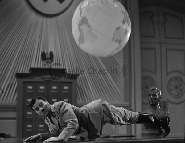 Globe scene - Charlie Chaplin Image Bank