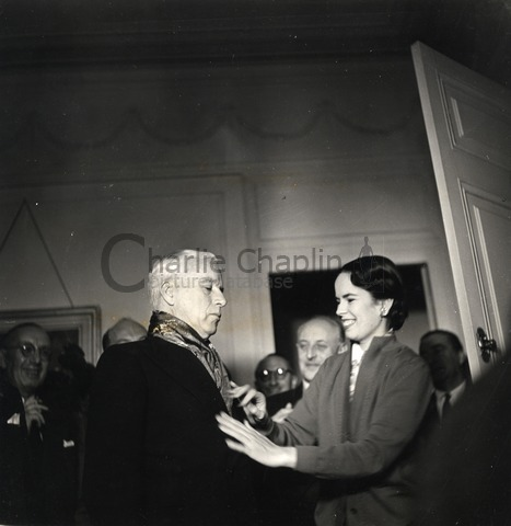 Charles and Oona Chaplin