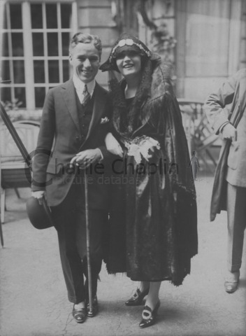 Chaplin first met Polish actress Pola Negri in Berlin in 1921