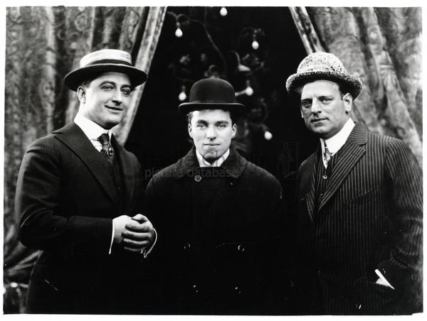 Francis X. Bushman, Charlie Chaplin & Bronco Billy Anderson