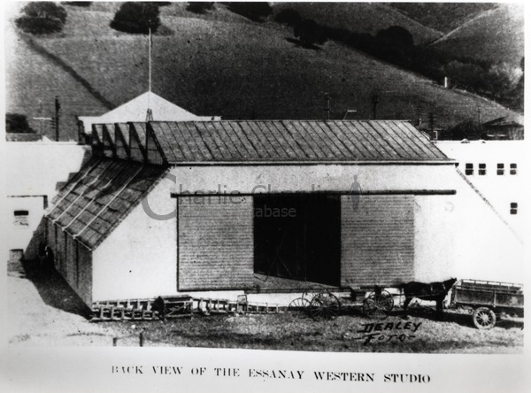 Back view of the Essanay Western Studio