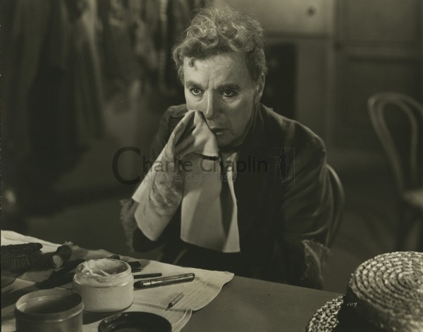 Chaplin as Calvero in Limelight