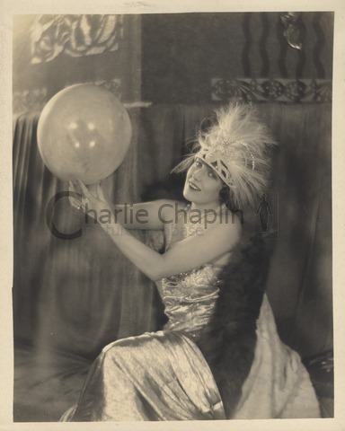 Publicity still of Edna Purviance for A Woman of Paris