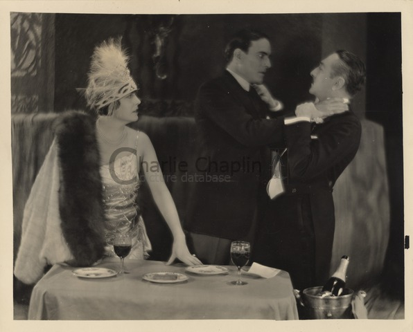 Publicity still for A Woman of Paris, 1923
