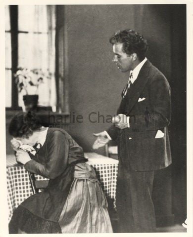 Chaplin directing Lydia Knott