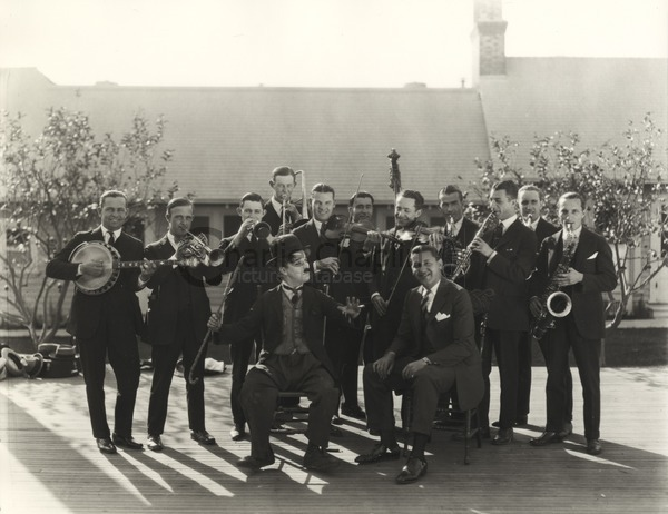 Charlie Chaplin and the Abe Lyman Orchestra