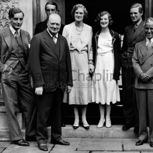 Cc with churchill and family  chartwell manor  westerham  kent. sept 19  1931 midsquare