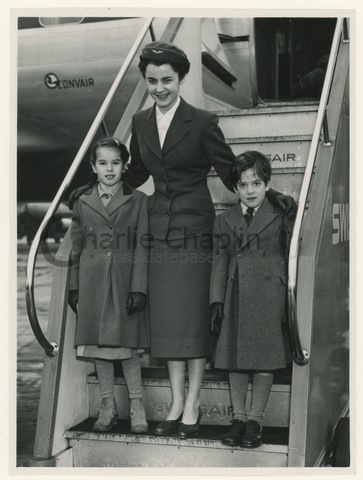 Elsbeth weissenberger kilchmann  swissair flight attendant  london geneva flight big